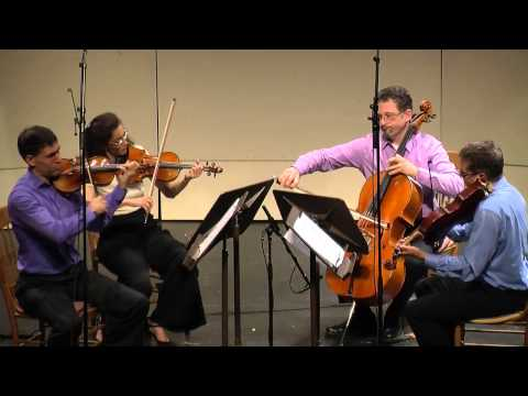 Max Bruch - String Quartet in c minor, Op. 9. 2nd mvmt. CVCMF 2013.