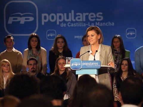 Cospedal: Cualquier intento de cambiar la igualdad de todos los españoles tendrá al PP enfrente