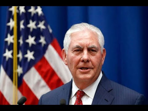 Trump sacks Tillerson as state secretary