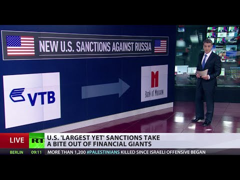 sanctions - The United States announced a new round of sanctions against Moscow, accusing the Kremlin of supporting anti-Kiev militias in eastern Ukraine and threatening...