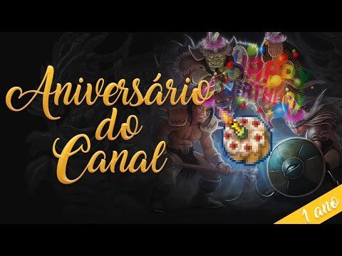 ANIVERSÁRIO DE 1 ANO DO CANAL – MELHORES MOMENTOS