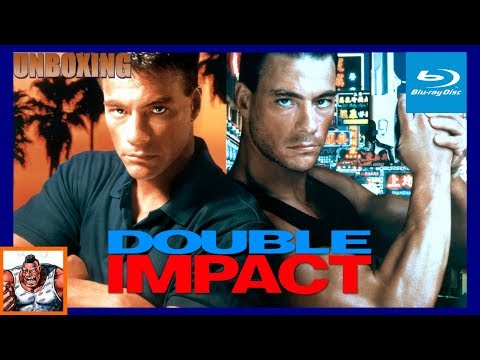 Double Impact Special Collector's Edition Van Damme Blu Ray Unboxing