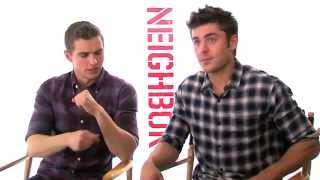 Zac Efron & Dave Franco on getting Old, Smoking Weed and being bad Neighbors