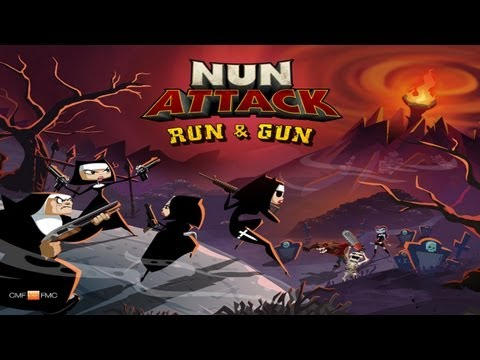 nun - Nun Attack: Run & Gun by Frima The Nuns are BACK and they're on their way to a new adventure! The Fallen Nun has been defeated, but Evil never truly rests. F...
