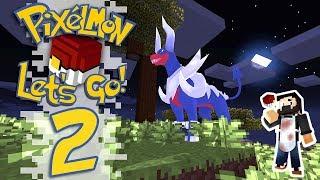 Pixelmon: Let's Go! - EP02 - Bug Gym, Bosses and Adventure! (Minecraft Pokemon) #PixelmonLetsGo