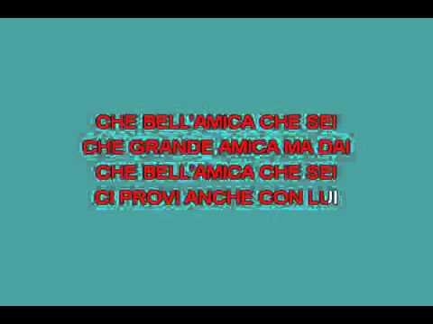 , title : 'Bell'amica [karaoke]'