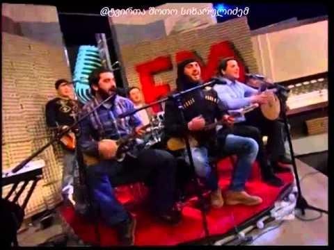 nanukas show JGUFI BANI - KAVKASIURI BALADA radio ar daidardos dabadebis dge (видео)