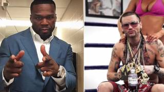 50 Cent Challenged By Riff Raff To Fight On The Undercard For Soulja Boy Chris Brown