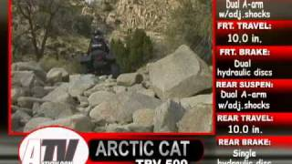 9. ATV Television Test - 2004 Arctic Cat TRV 500