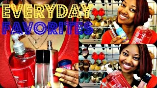 My Everyday Favorites | Multiple Categories - YouTube