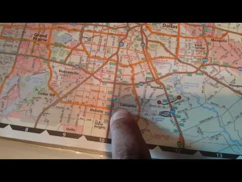 HOW TO READ A TRUCK ROAD ATLAS - TRUCK MAP