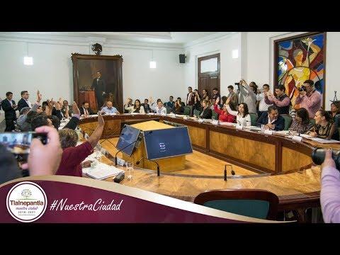 Cabildo H. Ayuntamiento de Tlalnepantla de Baz 20 de noviembre del 2019