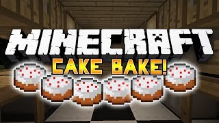 *HILARIOUS* Minecraft Mini-Game: CAKE BAKE! #1 w/SSundee, Ashley&LogDotZip!