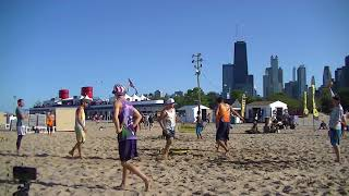 Golden Set vs Origin Impact Semifinals Game 2 Chicago Spikeball Grand Slam 2017