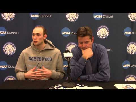 Northwood University Men's Basketball (2/26/15) NU 73, Lake Superior State 66 - Press Conference