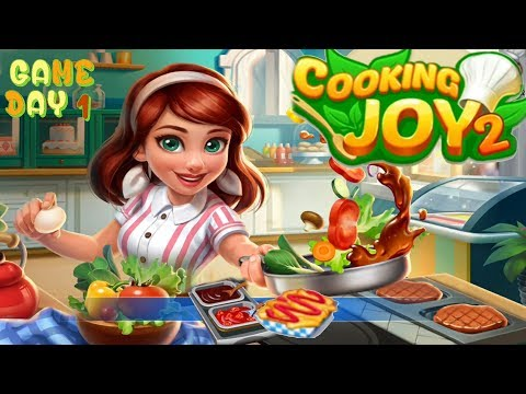 Cooking Joy 2/THE BEGINNING/Part 1 - Levels 1 To 7