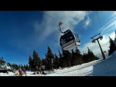 Černá hora ski 2016 Gába a Téra