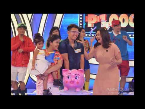 WINNING MOMENTS: Francisco Family is Bet On Your Baby Season 3's first millionaire !!!