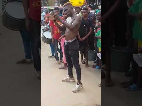 A street guy manhandled a lady and gets a dirty slap