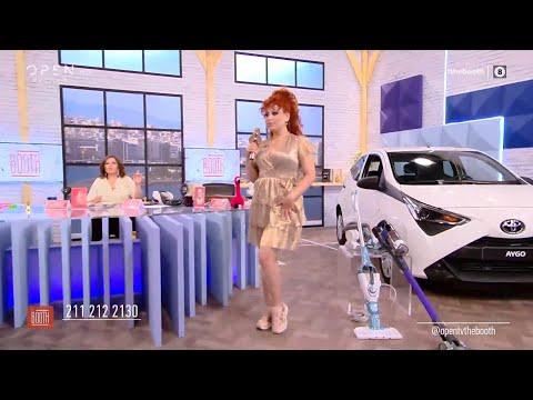 Το φοβερό outfit της Σοφίας Κουρτίδου | The booth 25/09/2020 | OPEN TV