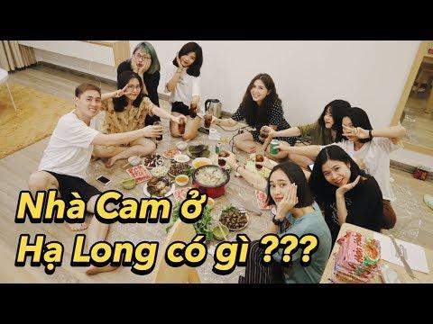 Nhà Cam ở Hạ Long có gì , chơi ma sói cùng các em nhân viên | Gia Đình Cam Cam Vlog 80 - Thời lượng: 17:25.