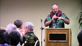 February 25, 2015 Dennis Francis speaks to the Hawaii Island Chamber of Commerce and the Big Island Press Club about the future of newspapers in general, ...
