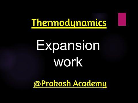 Physikalische Chemie Themodynamics Expansion Arbeitskonzepte