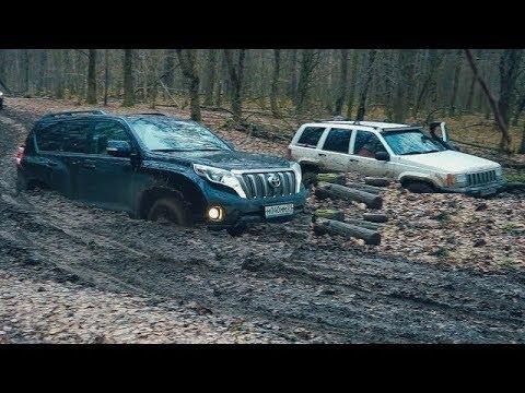 Паджеро Спорт расстроил всех. Резина решает. 20 внедорожников в лесу - оффроад (видео)