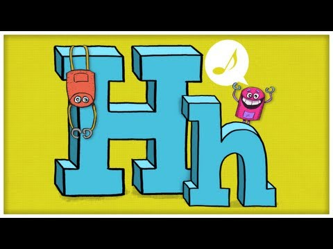"""ABC Song: The Letter H, """"Say Hello To Your Good Friend, H"""" by StoryBots"""