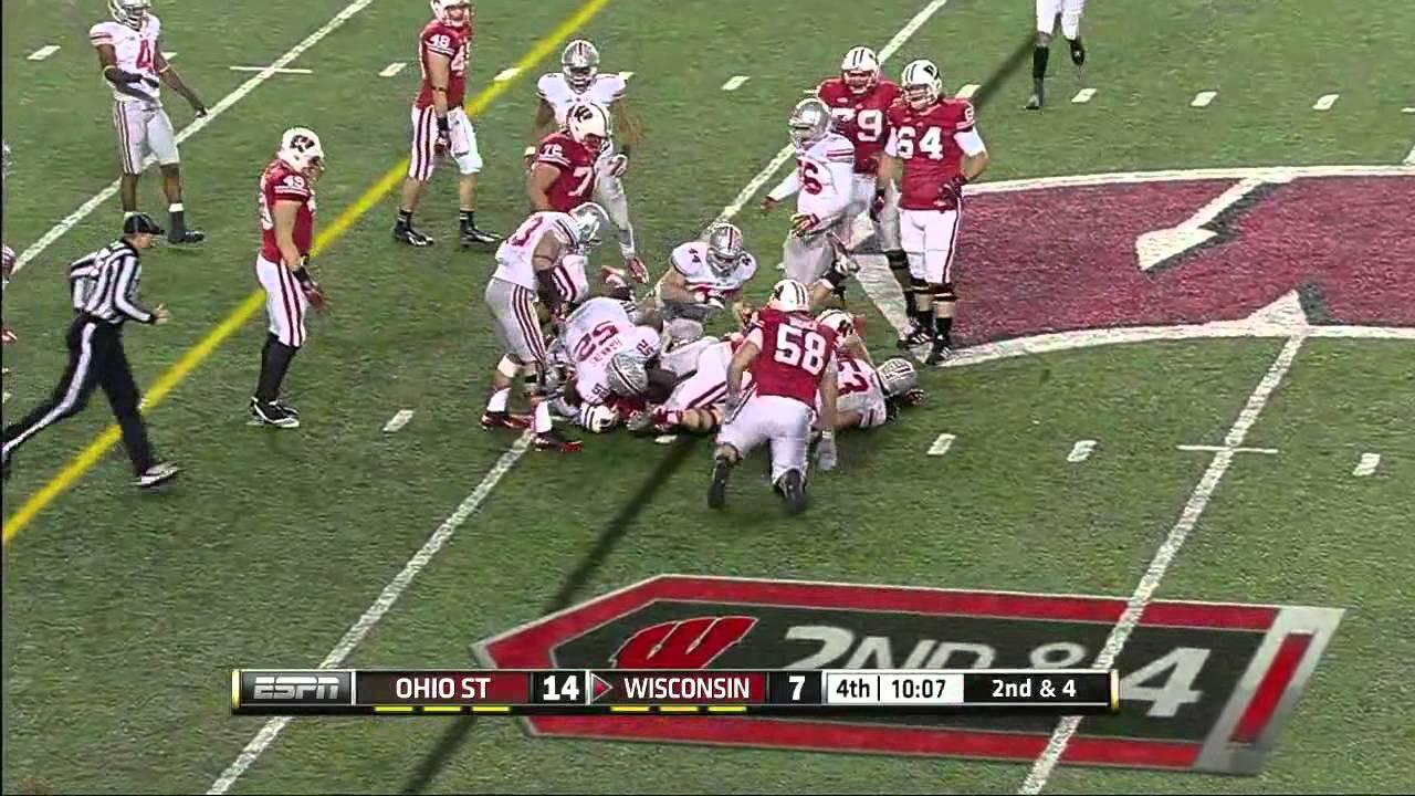 Montee Ball vs Ohio State (2012)