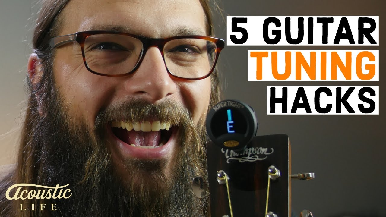 5 Guitar Tuning Hacks (That will SAVE Your Acoustic Life)
