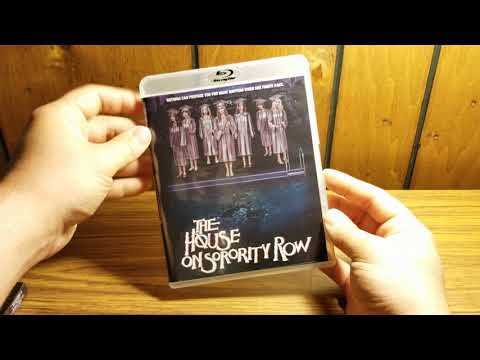The House On Sorority Row Blu-ray Unboxing