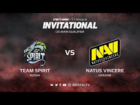 Team Spirit против Natus Vincere, Первая карта, CIS квалификация SL i-League Invitational S3