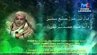 Video MTQA 2013 Qariah Sumaiyah Ali Abdel Aziz (Mesir) MP3, 3GP, MP4, WEBM, AVI, FLV Oktober 2018