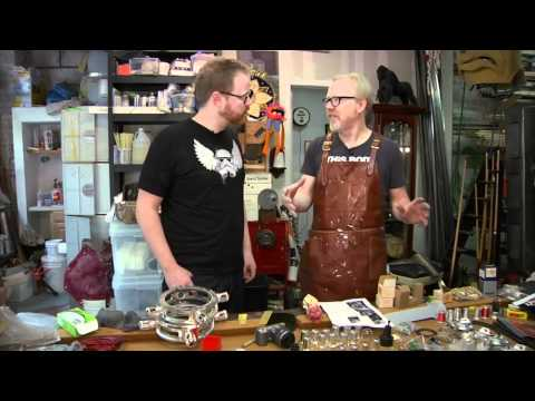 Adam Savage's Rasputin Mecha Glove Replica