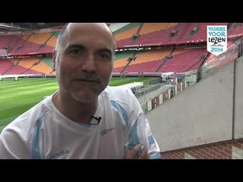 Vaders Voor Lezen-elftal: Leo Blokhuis