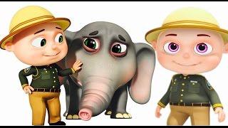 Video Zool Babies Forest Rangers Episode | Elephant Rescue | Funny Cartoon Animation For Children MP3, 3GP, MP4, WEBM, AVI, FLV September 2018