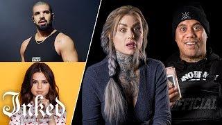 Video Tattoo Artists Guess Celebrity Tattoos | Tattoo Artists Answer MP3, 3GP, MP4, WEBM, AVI, FLV Agustus 2019