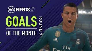 Video FIFA 18 | Goals of the Month | Round 7 MP3, 3GP, MP4, WEBM, AVI, FLV Juni 2018