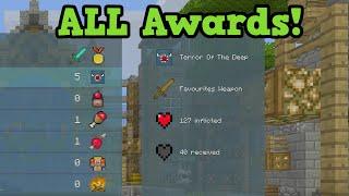 Minecraft Battle Mode - HIDDEN AWARDS, BEST AWARDS
