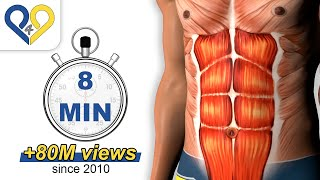 8 Min Abs Workout, how to have six pack (HD Version) - YouTube