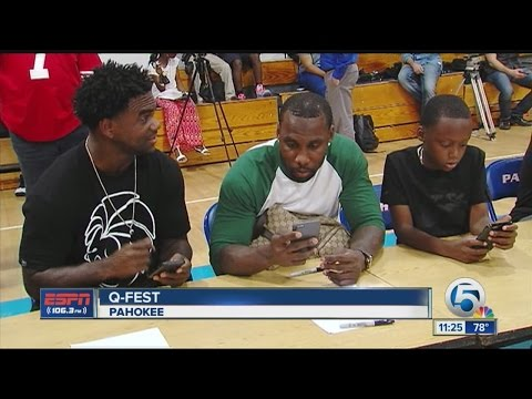Anquan Boldin's Q-Fest Brings Down the House in Pahokee