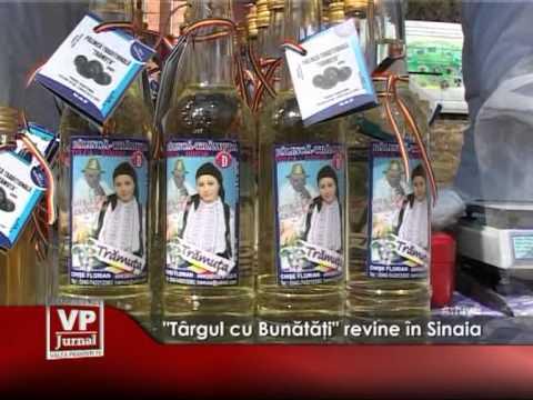 """""""Târgul cu Bunătăţi"""" revine în Sinaia"""