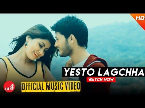 New Nepali Song 2016    YESTO LAGCHHA - Pratap Lama (Official Video) Ft.Sampada Baniya/Naresh