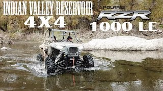 3. Indian Valley Reservoir Polaris RZR XP 1000 LE Trails and Rocks Edition + Teryx 4x4 in the River