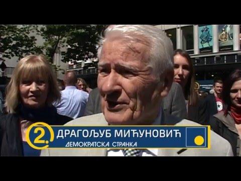 Драгољуб Мићуновић: Позив грађанима да изађу на изборе