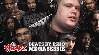 Video Beats by Esko - Megasessie - 101Barz MP3, 3GP, MP4, WEBM, AVI, FLV Juni 2018