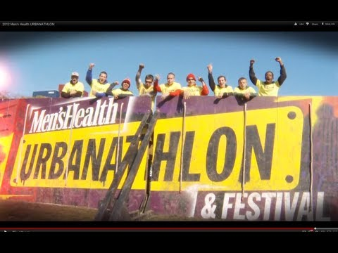 Compete in the Men's Health URBANATHLON with Lauren Berlingeri