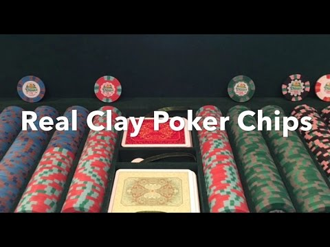 Cheap Real Clay Poker Chips - Take Your Home Game to the Next Level