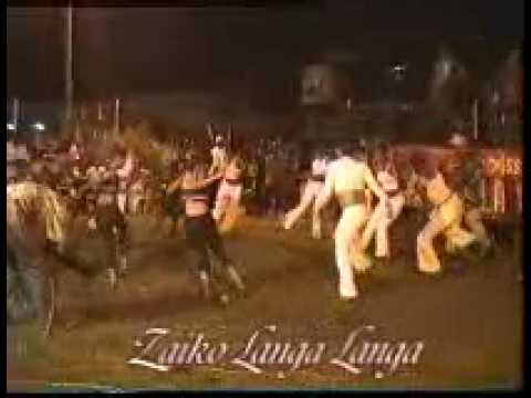 Zaiko langa langa. danseuse.
